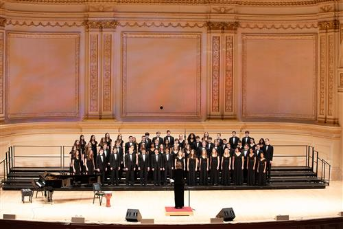 Pantheon Choir Carnegie Hall Performance 2019
