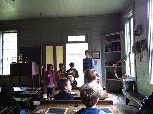 Choralreading one room schoolhouse