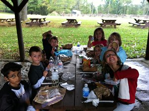 Lunch at Meadowcroft Village