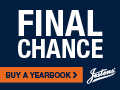 Last Chance! Order Your Yearbook Now!