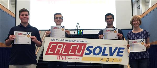 CalcuSolve Team - First Place