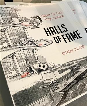 Halls of Fame Program Cover