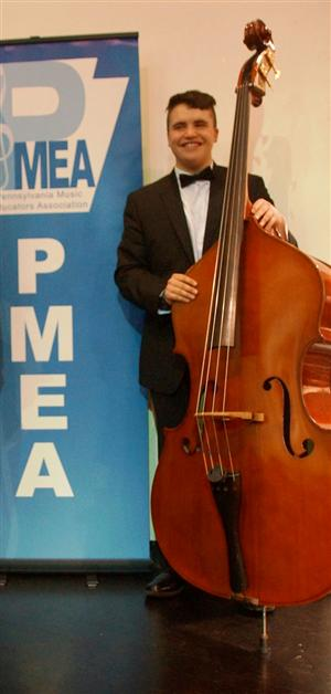 Orchestra WRSO Festival At State College High School On February 25 27 USC String Bass Player James Boston Earned Placement In The