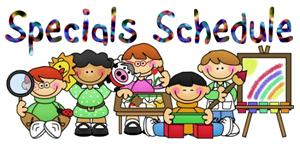 Image result for specials schedule clipart